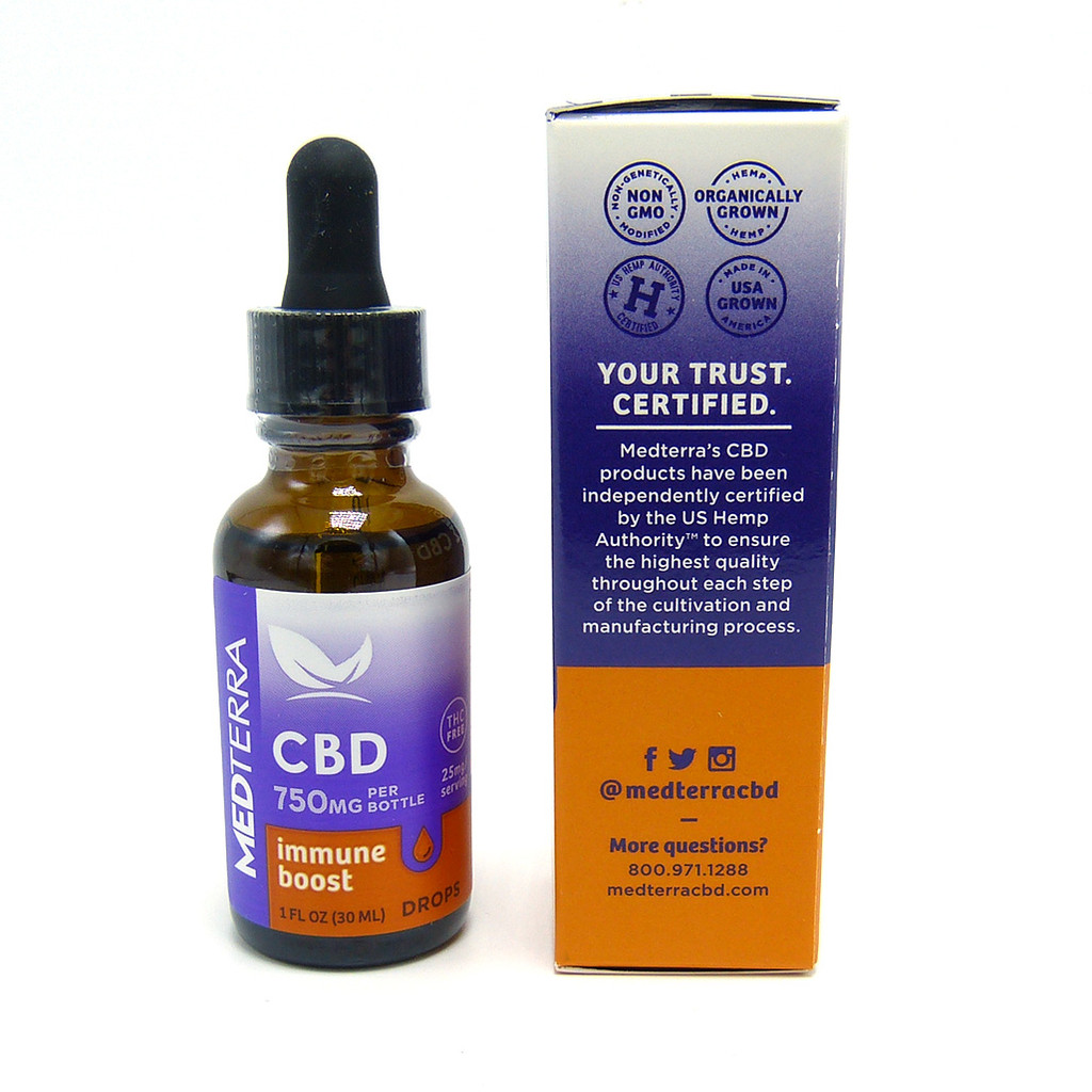 Medterra Immune Boost (750 mg CBD) (Isolate)