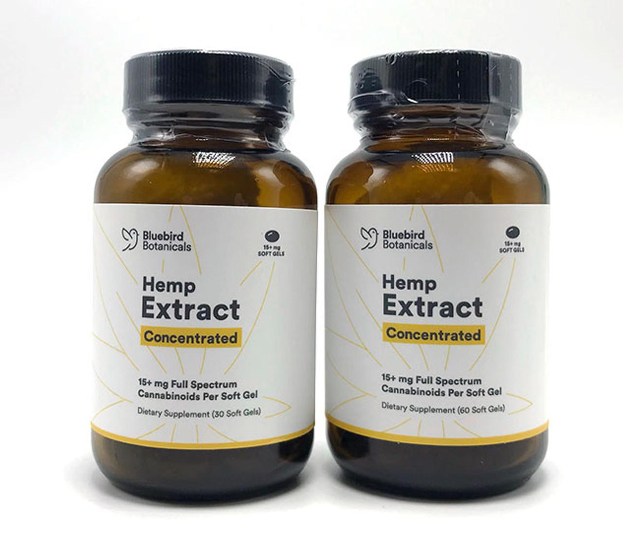 Bluebird Botanicals - Soft Gel Concentrated Capsules (Full Spectrum)