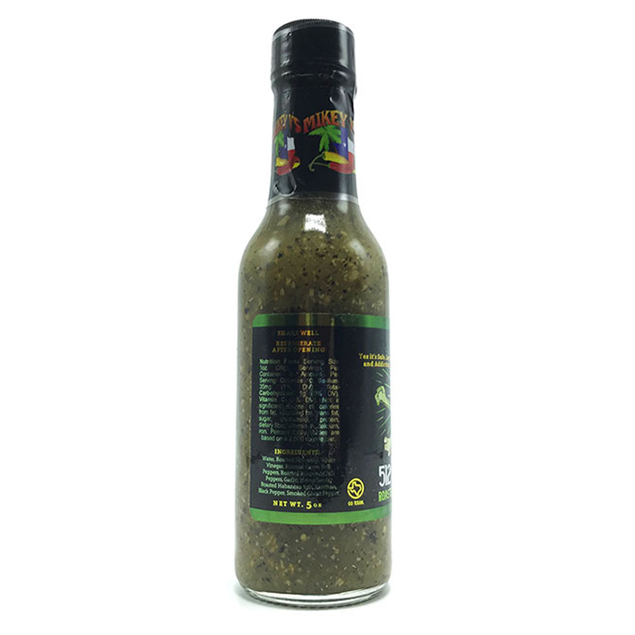 Mikey V's 512 Pot Sauce (Hemp Seed Hot Sauce)