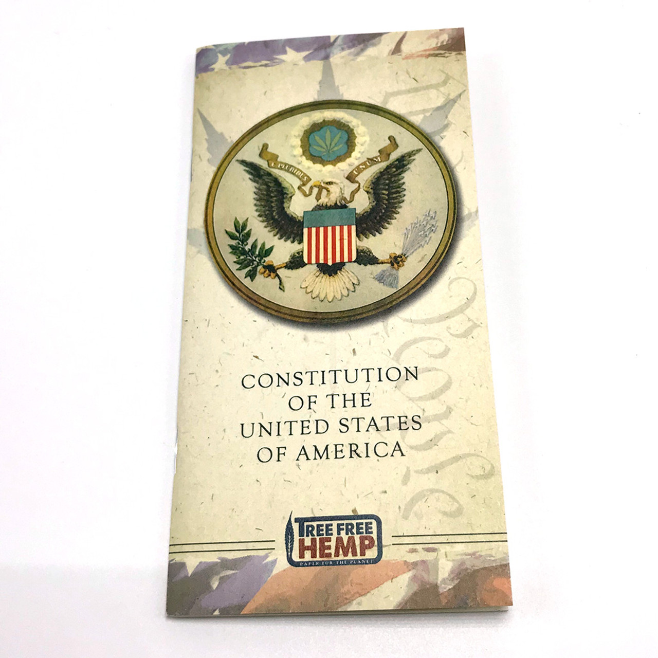 United States Constitution (Made with Hemp Paper)