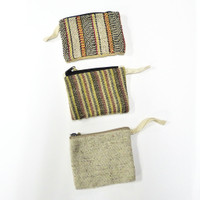 Earth Divas Hemp Pouch (small) (two styles available)