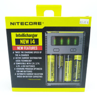 Nitecore Intellicharger i4 - universal rechargeable battery charger