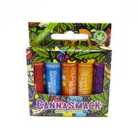 CannaSmack Lip Balm 5-Pack (Natural)