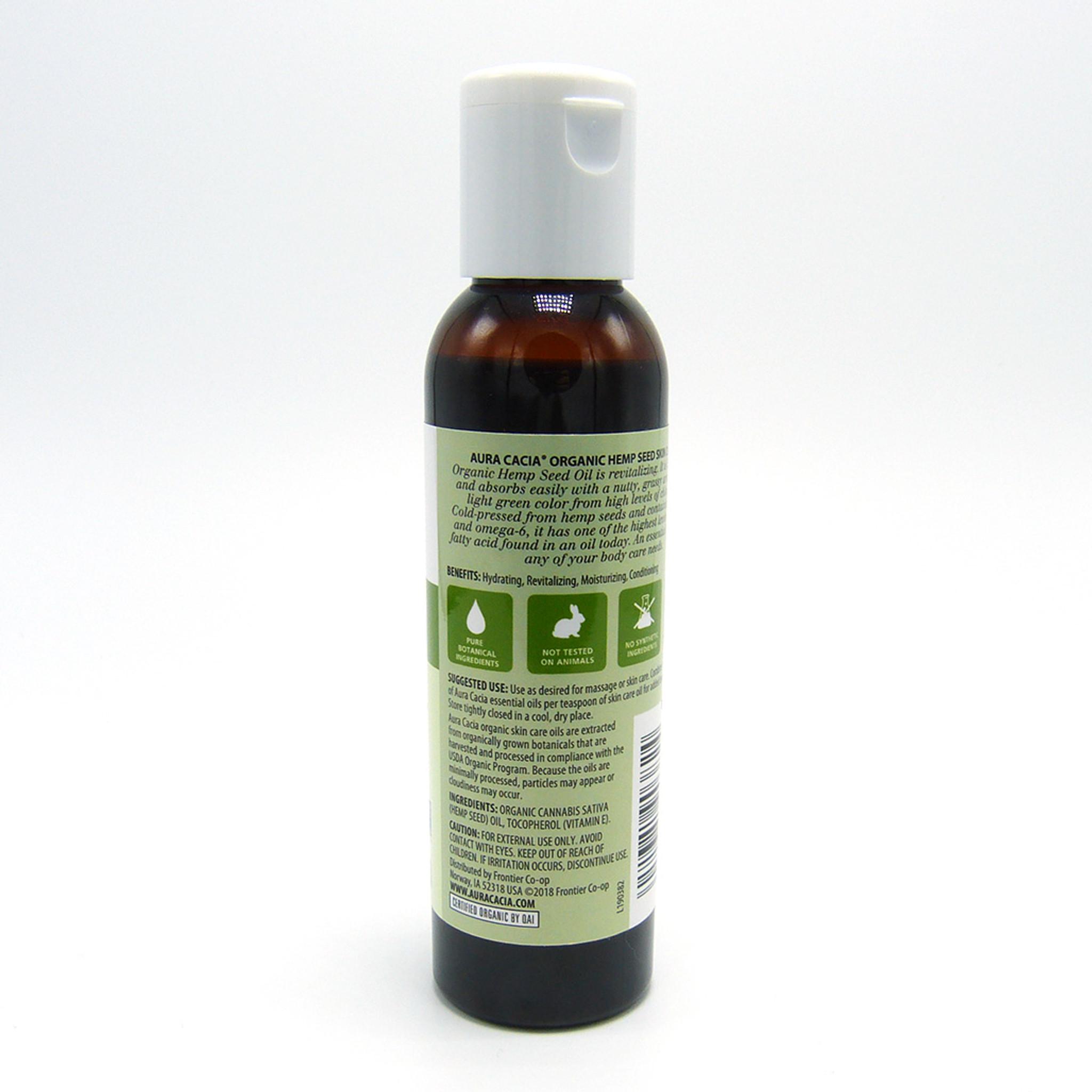 Aura Cacia Organic Hemp Seed Skin Care Oil Hemp Headquarters
