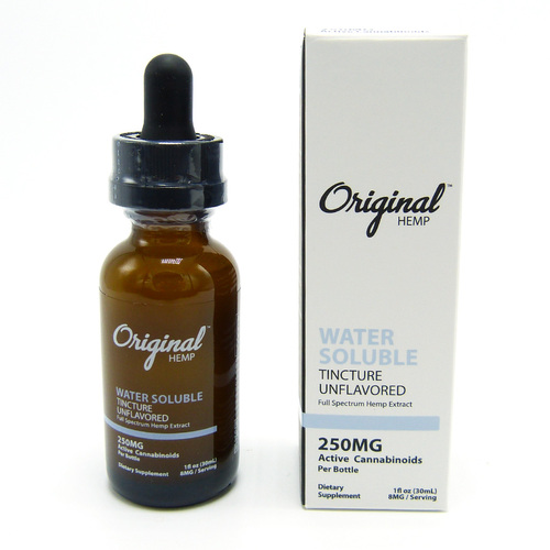 Original Hemp Water Soluble Tincture (Full Spectrum) (250 mg, 500 mg)