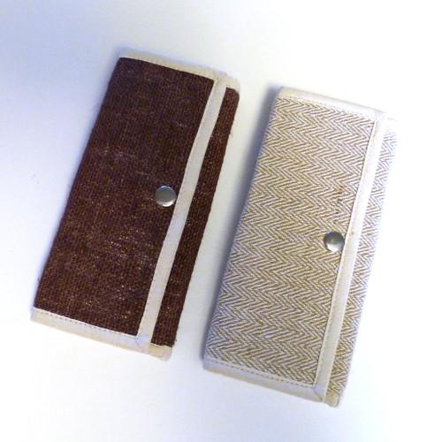 Earth Divas Hemp Billfold / Wallet (2 colors)