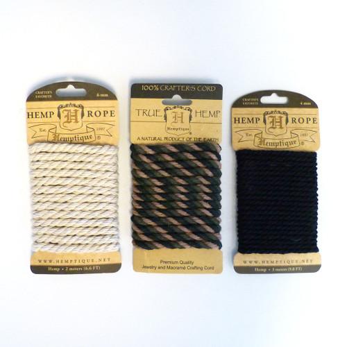 Hemptique Crafter's Cord (3 colors)