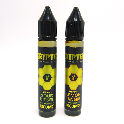 Krypted E-Liquid with Terpenes (1000 mg CBD)