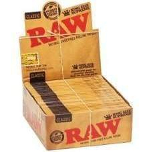 Raw King Size Supreme Creaseless (24 Count)