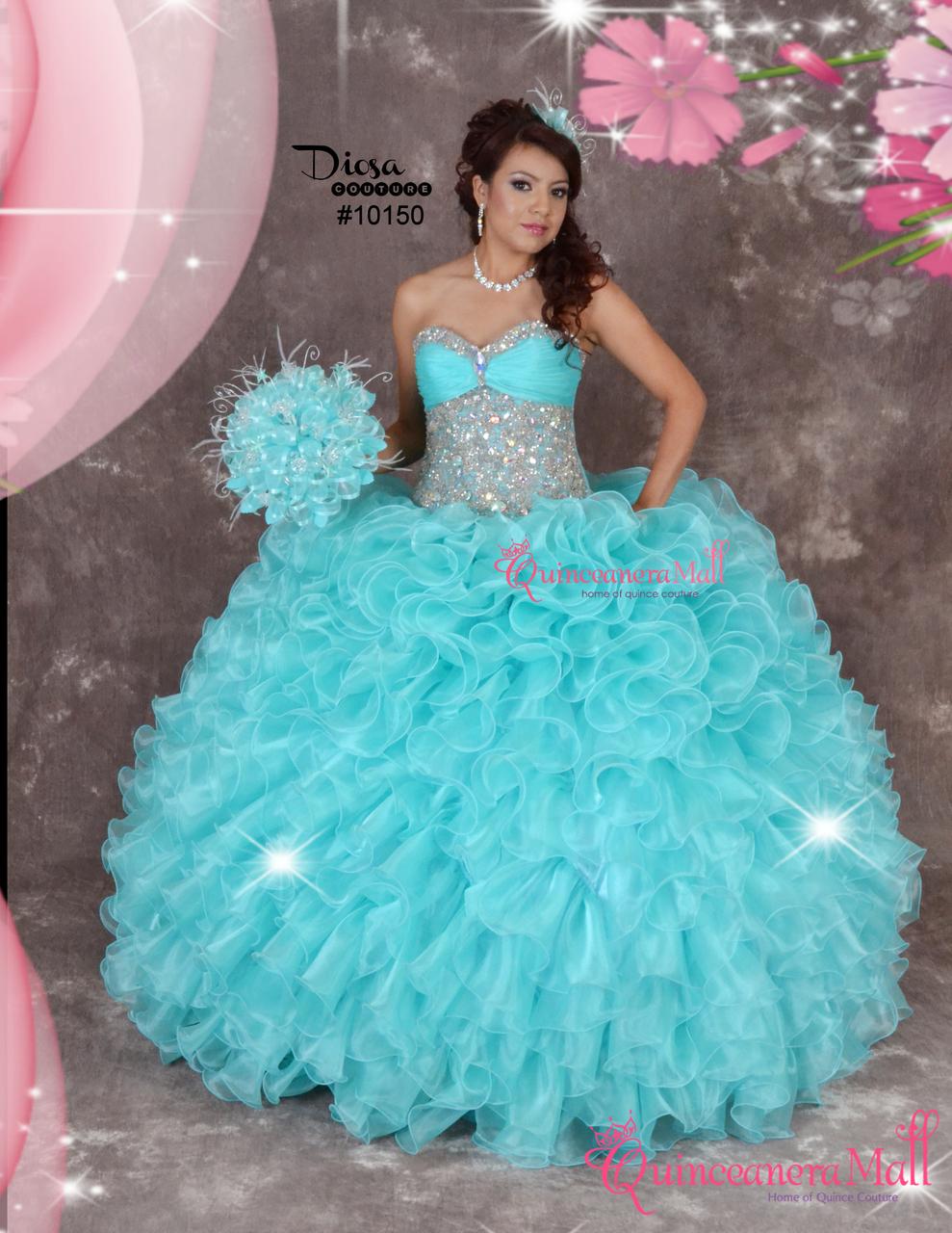 ba1870cc02b Quinceanera Dress  10150QM - Quinceanera Mall
