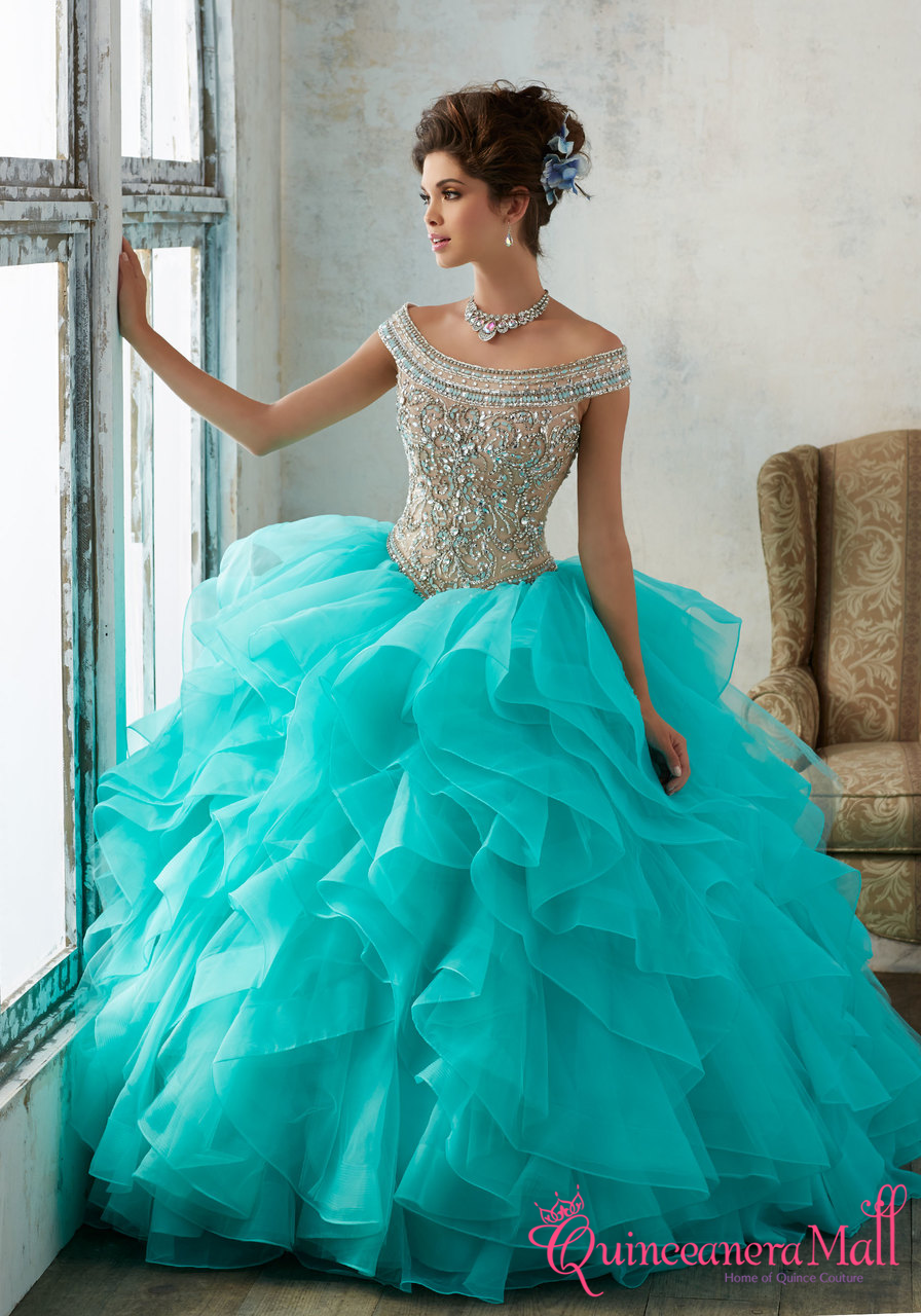 f81b43ad08c Mori Lee Vizcaya Quinceanera Dress Style 89138 - Quinceanera Mall