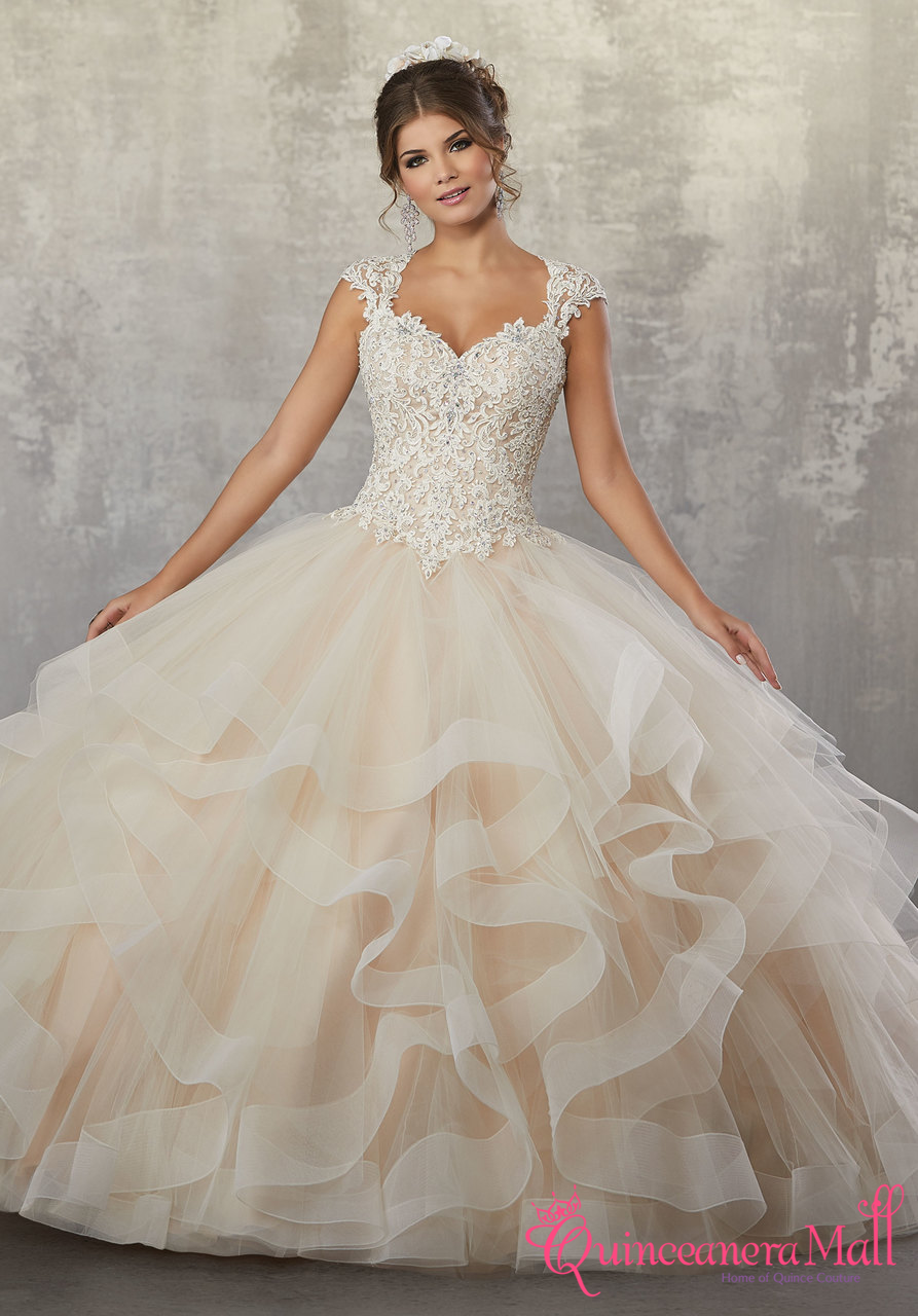 557d2784bdc Mori Lee Vizcaya Quinceanera Dress Style 89177 - Quinceanera Mall
