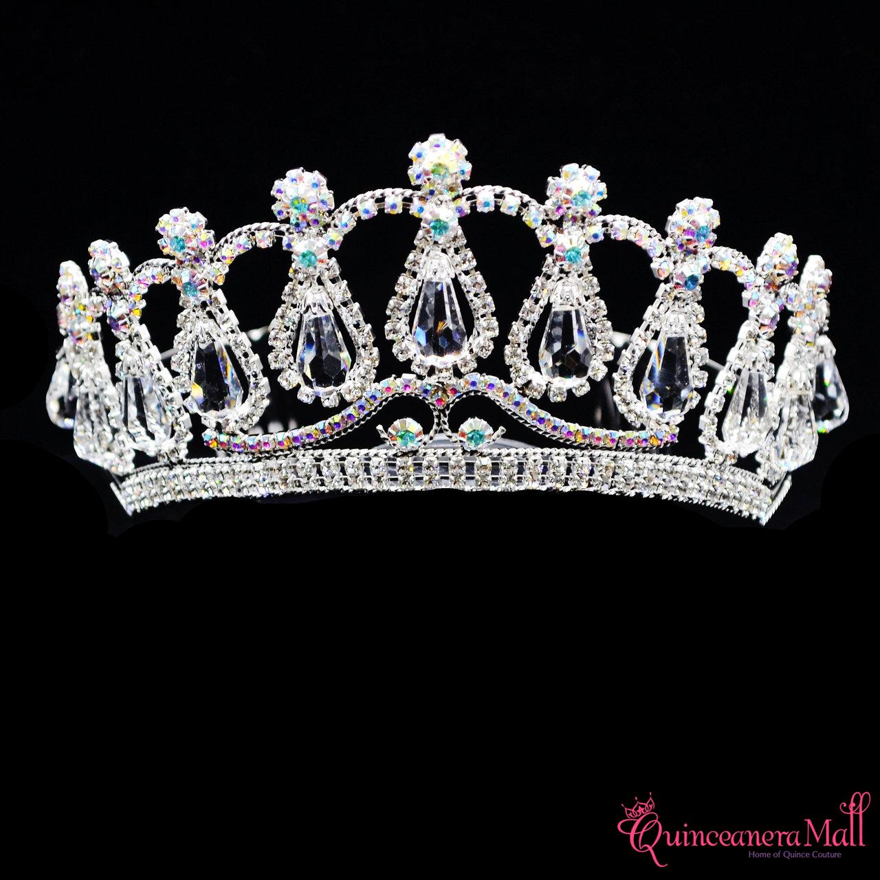 2 75 princess crystal tiara t145