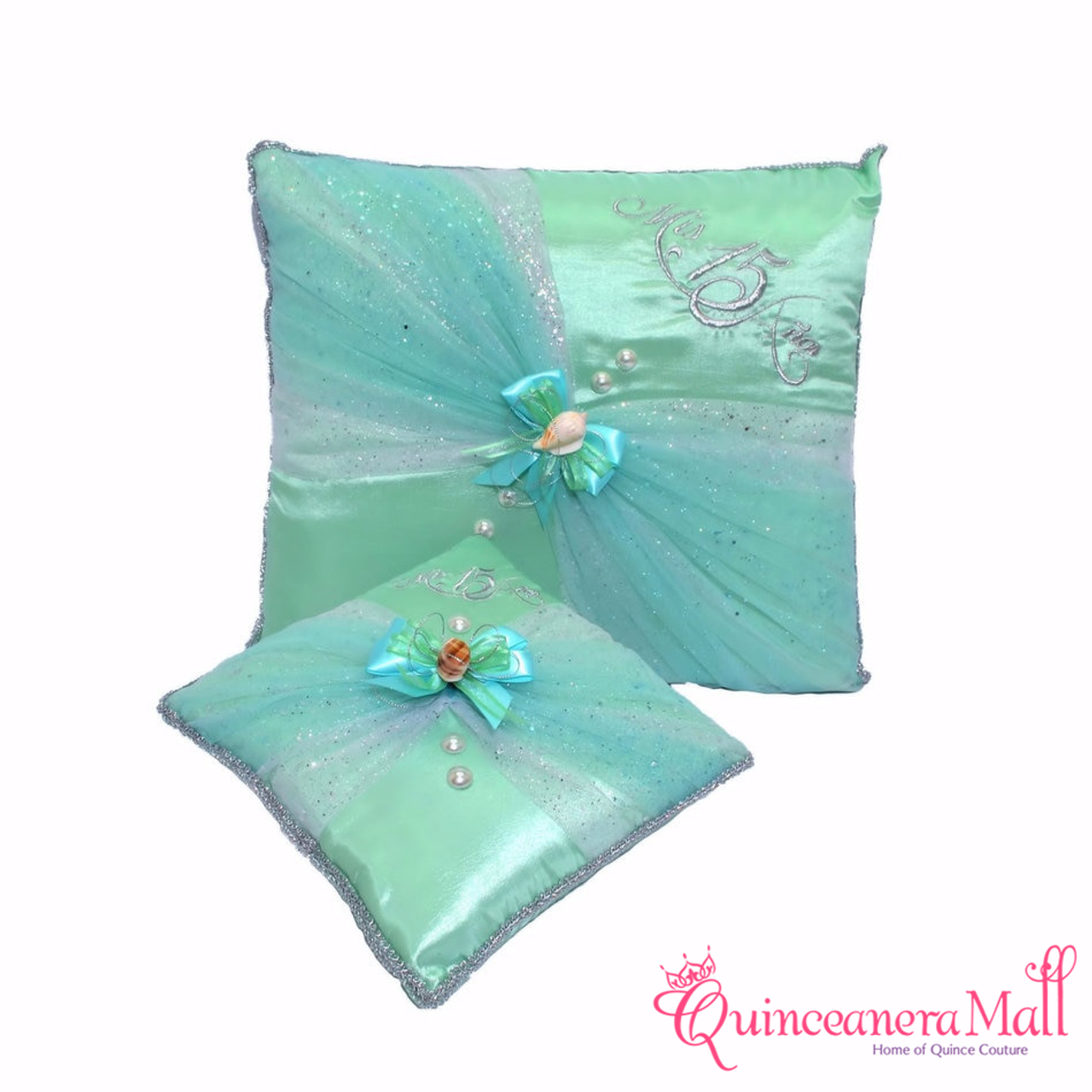65e8cf725c0 Under The Sea Quinceanera Pillows - Two Pillows  PLW97 - Quinceanera ...