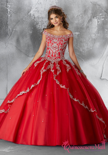 7e76e8690bd Mori Lee Vizcaya Quinceanera Dress Style 89176 - Quinceanera Mall