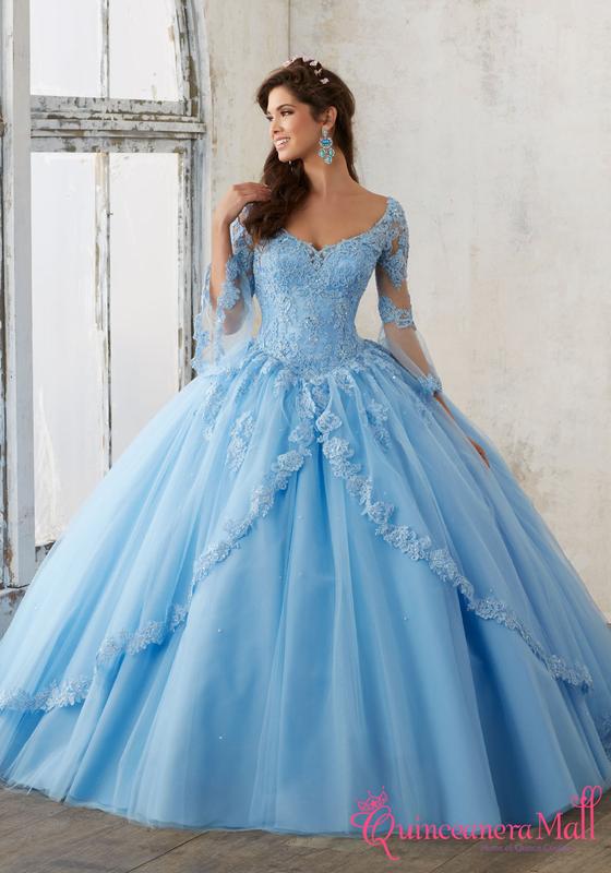 1db55bab7ec Mori Lee Valencia Quinceañera Dress Style 60015 - Quinceanera Mall