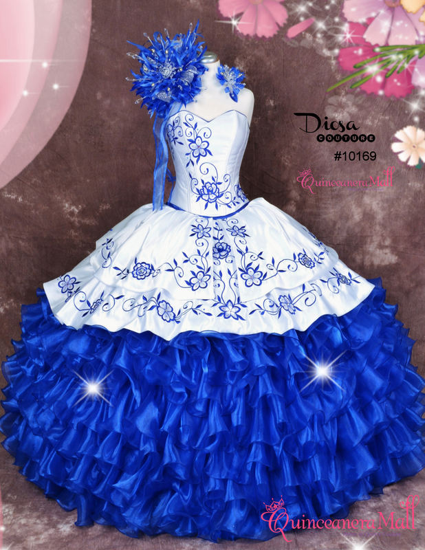 c679e3cf924 Charra Quinceanera Dress  10169QM - Quinceanera Mall
