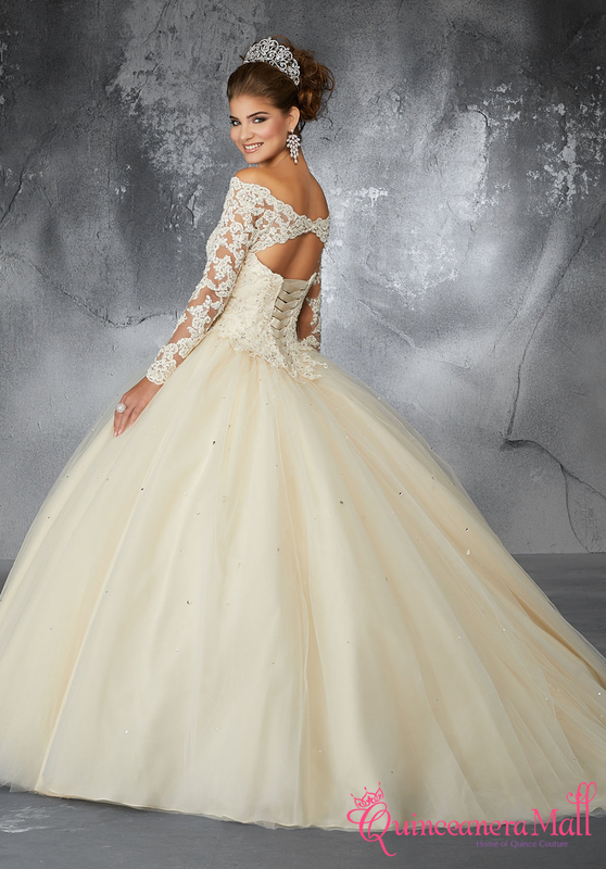 2d02869a697 Mori Lee Valencia Quinceanera Dress Style 60052 - Quinceanera Mall