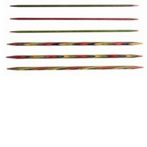 Symfonie double pointed needles (15cm) 6.00mm
