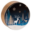 Crystal Evening Cookie Tin Container