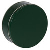 Green Cookie Tin Container