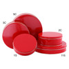Red Cookie Tin Container Group