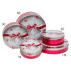 Silver Bells Cookie Tin Container Group