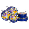 Spring Meadow Cookie Tin Container Grp