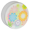 Flower Power Cookie Tin Container