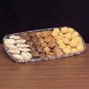 Rectangle Plastic Crystal Cut Tray