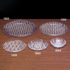Round Plastic Crystal Cut Tray Group
