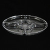 Round Compartment Plastic Tray