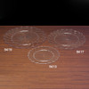 Clear Plastic Scalloped Tray Group