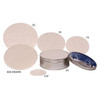 Round Tin Container Candy Pads Group