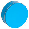 Bright Blue Cookie Tin Container