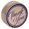 Regal Thank You Cookie Tin Container