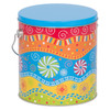 Panache Tall Round Tin Container
