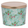 Winter's Charm Popcorn Tin Container