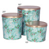 Winter's Charm Popcorn Tin Container Group