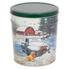 Countryside Christmas Tin Container