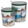 Countryside Christmas Tin Container Group