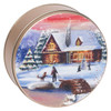 Holiday Retreat Cookie Tin Container