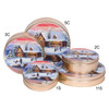 Holiday Retreat Cookie Tin Container Group