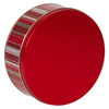 Classic Stripes Cookie Tin Container