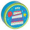 Birthday Party Cookie Tin Container