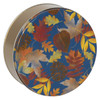 Falling Leaves Cookie Tin Container