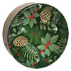 Golden Pinecones Cookie Tin Collection