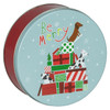 Jingle Pups Cookie Tin Container