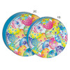 Pastel Eggs Cookie Tin Container Group