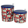 Gift Tags Popcorn Tin Container